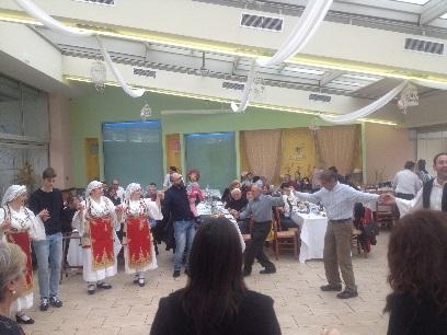 Βλέπετε φωτογραφίες από : Πίτα συνεστίαση 2017